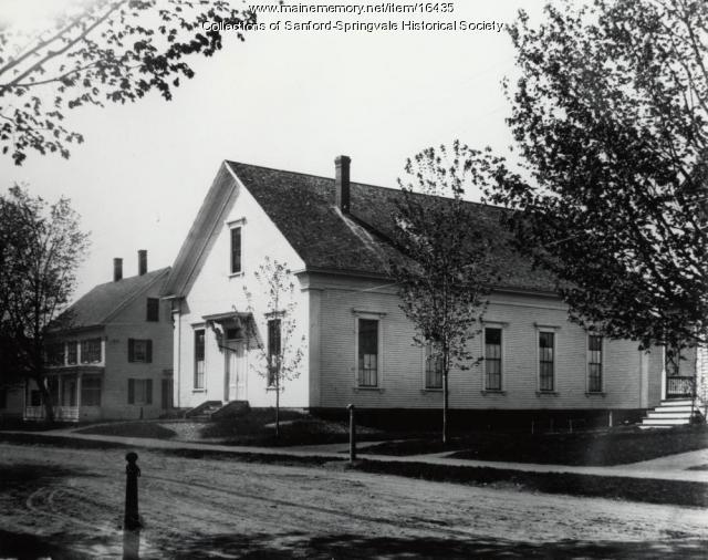 Sanford Town Hall, ca. 1900