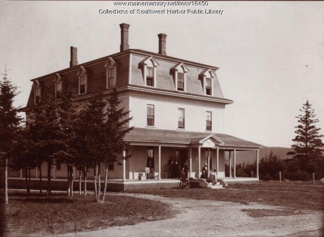 Dirigo Hotel, Southwest Harbor, 1893