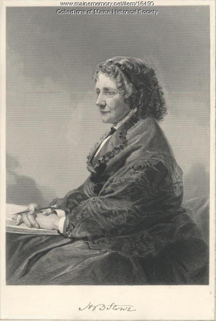 Harriett Beecher Stowe, ca. 1890