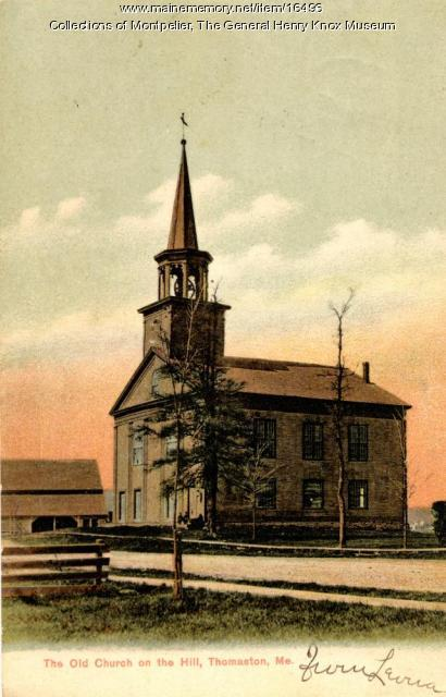 The Old Church on the Hill, Thomaston