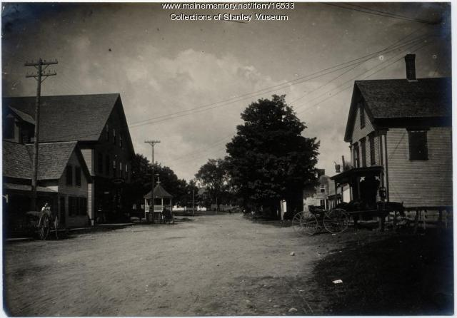 Main Street, Kingfield, ca. 1910