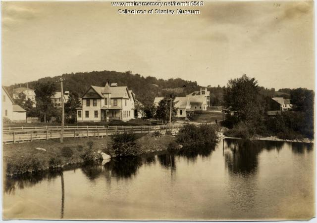View of Kingfield and Stanley Hill, ca. 1908