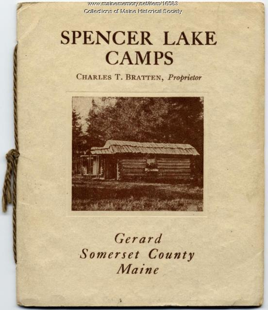 Spencer Lake Camps booklet, ca. 1920