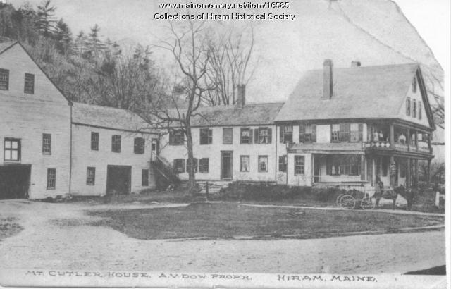 Mount Cutler House, Hiram, ca. 1900