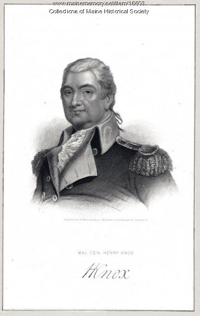 General Henry Knox, Thomaston, ca. 1800