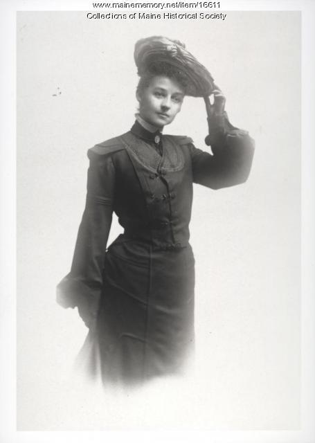Fanny Hardy Eckstorm, ca. 1900
