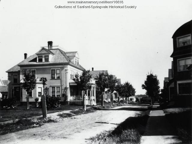 Oak Street, Sanford, ca 1900