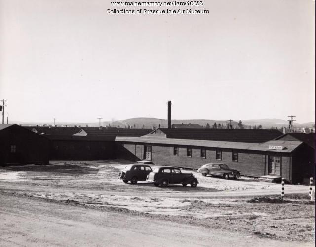 Presque Isle Army Air base dispensary, ca. 1943