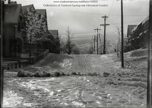 Winter Street, Sanford, ca 1900