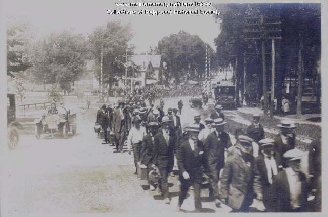 Recruits, Bowdoin College, Brunswick, 1917
