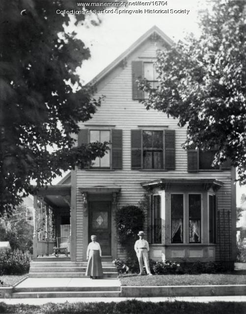 Samuel O. Nicholls Home, Oak Street, Sanford