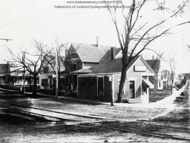 James H. Bland's Store, Sanford, ca 1920