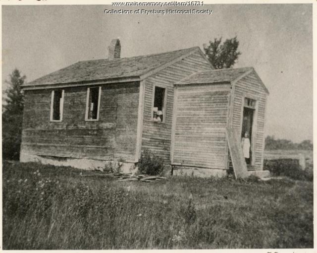 Fish Street School, Fryeburg, ca. 1900