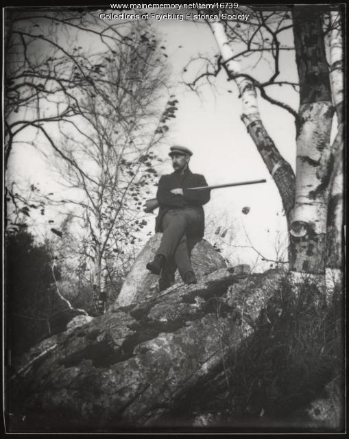 Loren J. Olney, Fryeburg, ca. 1900