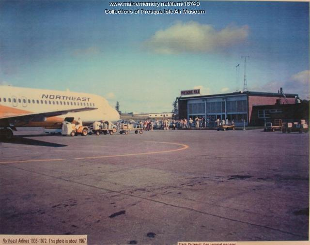 Northeast Airlines, Presque Isle, ca. 1967