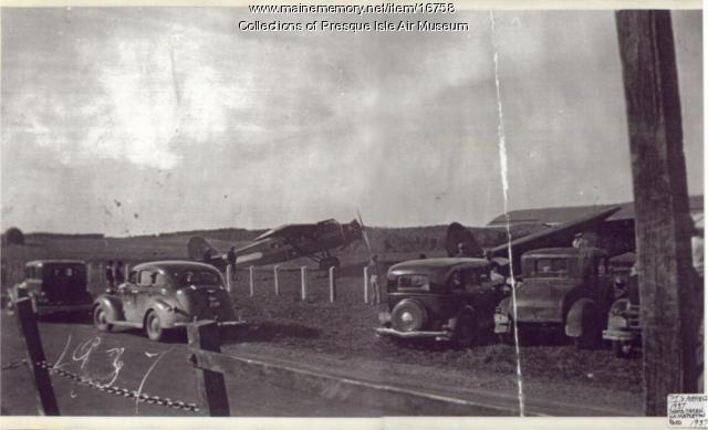 Presque Isle Airfield, 1937