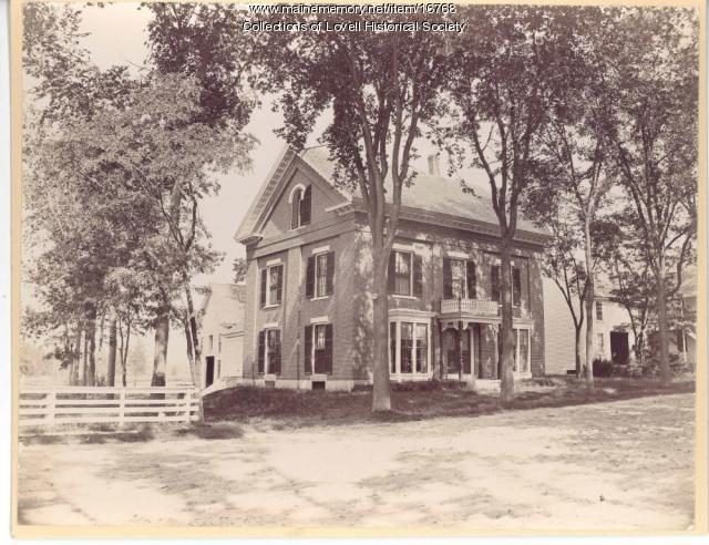 Ammi Cutter (Hurd) house, ca. 1900