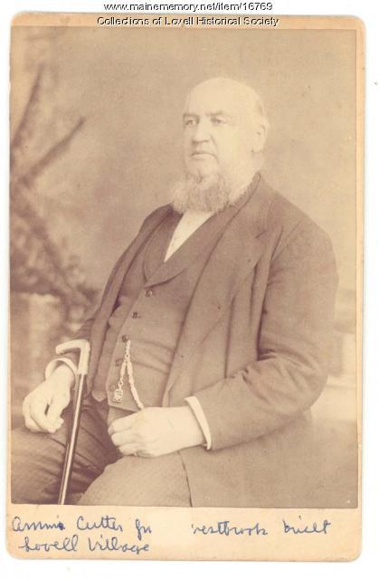 Ammi Cutter, Lovell, 1819-1896