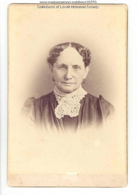 Olive Eastman Cutter, Lovell, ca. 1860