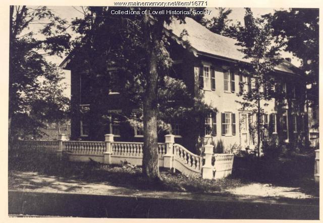 Kimball House, Lovell
