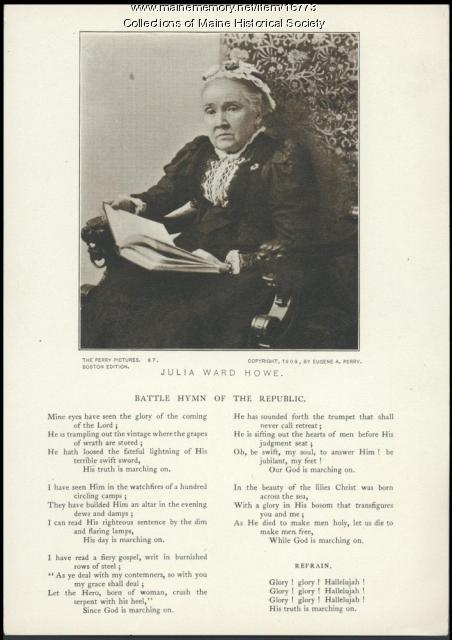 Julia Ward Howe, ca.