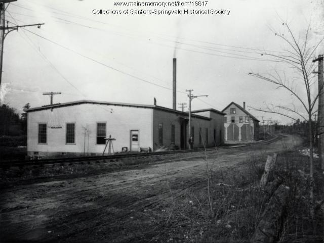Power Station, Springvale, ca 1905