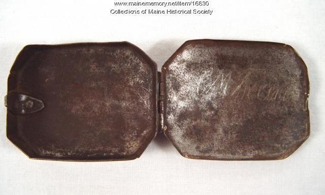 Samuel Freeman snuff box, ca. 1780