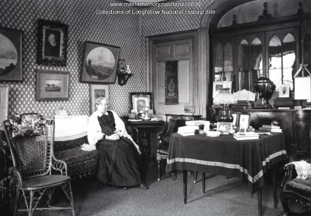 Anne Longfellow Pierce, Portland, ca. 1890