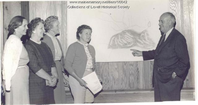 Evergreen Valley resort plans, Lovell, ca. 1960