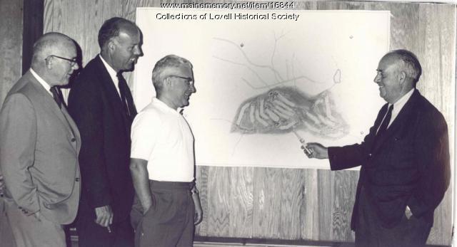 Evergreen Valley plans, Lovell, ca. 1960