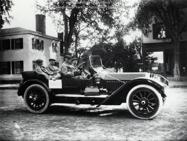 Off to Washington, Sanford, ca 1915