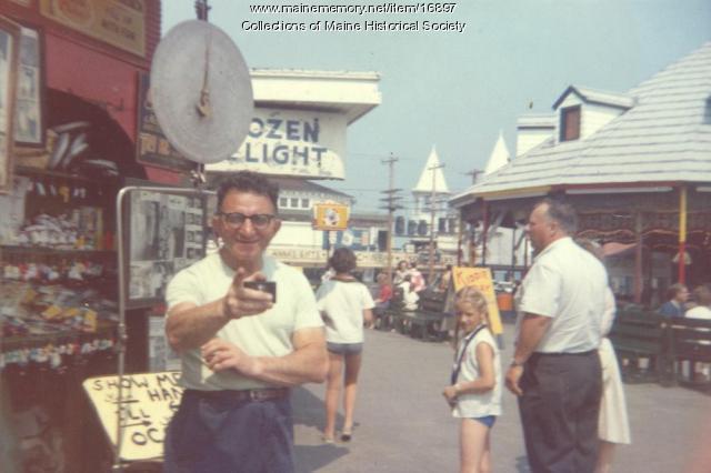 Dave Glovsky, Old Orchard Beach, 1955