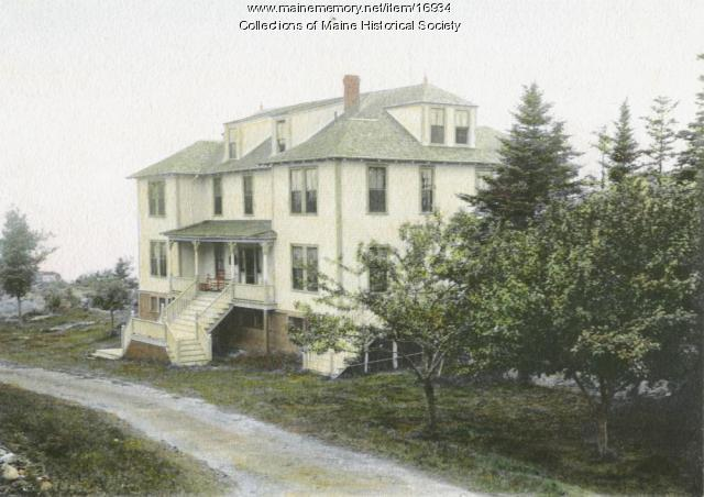 Aucocisco House, Cliff Island, ca. 1910