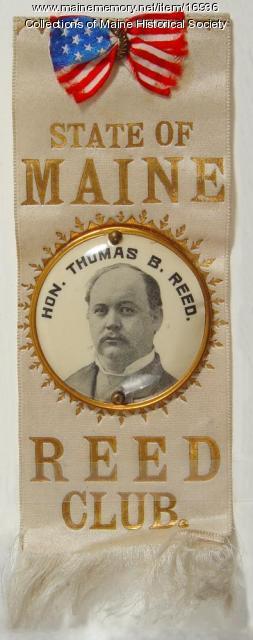 Reed Club Ribbon, ca. 1894