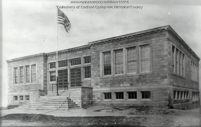 Roosevelt School, River Street, Sanford, 1909
