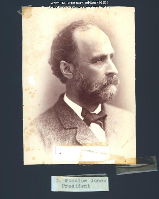 John Winslow Jones, Portland, ca. 1870