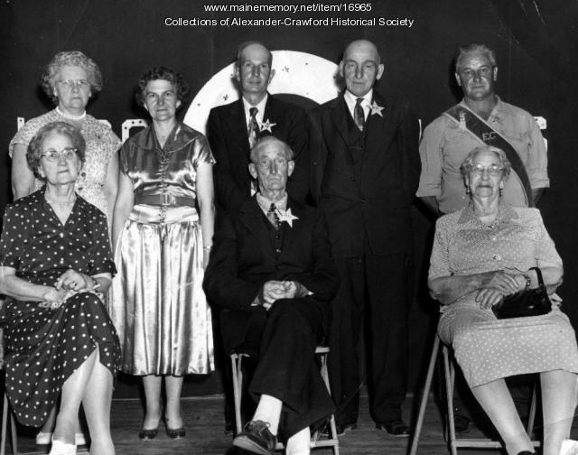 Grange #304 members, Alexander, ca. 1950
