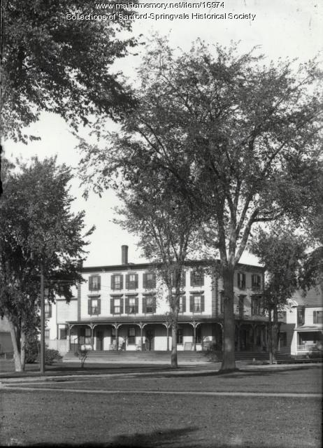 Hotel Sanford, Sanford, ca 1910