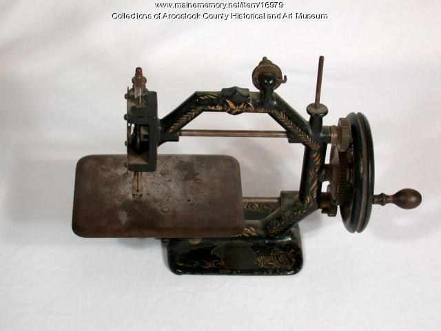 Hand Cranked Sewing Machine, c. 1870