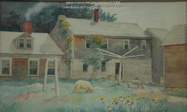 Island Farm, Fryeburg, 1904