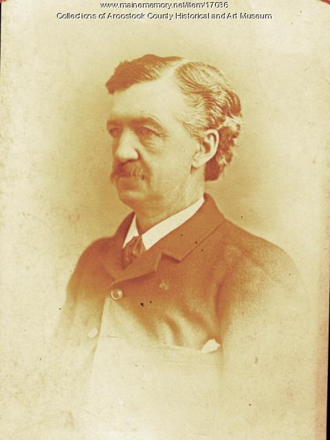 George Cary, Houlton, ca. 1887