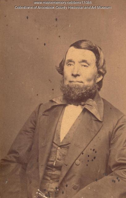 Nelson Herrin, Houlton, ca. 1870