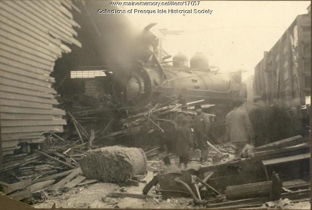 Train Wreck at Grindstone, 1911