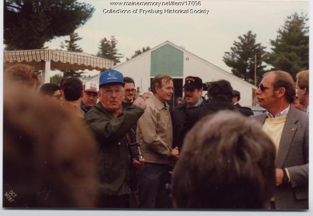 George H.W. Bush, Fryeburg, 1987