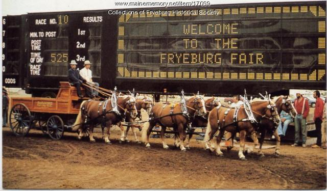 Fryeburg Fair postcard