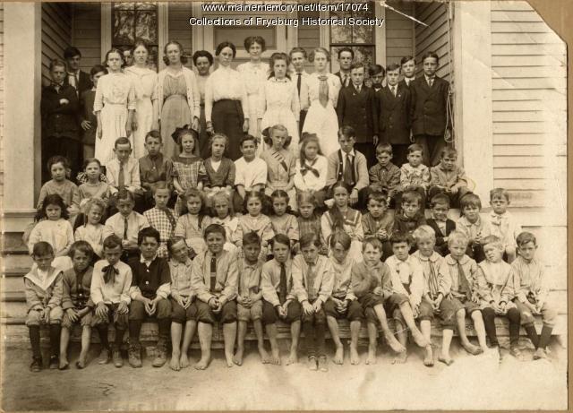 Fryeburg Grammar School, ca. 1912