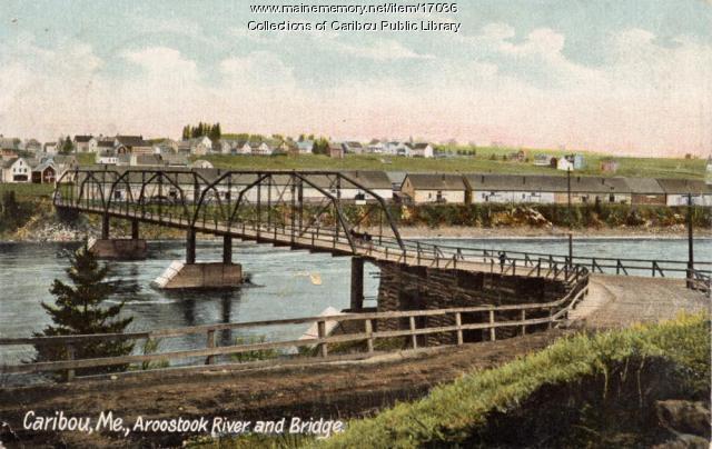 Caribou Bridge, c. 1905