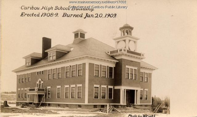 Caribou High School, 1909