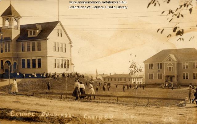 Caribou schools, ca. 1910