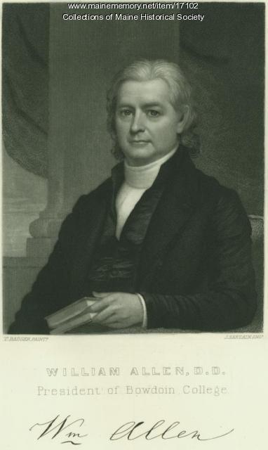 William Allen, Brunswick, ca. 1835